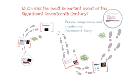 The Significant Seventeenth Century