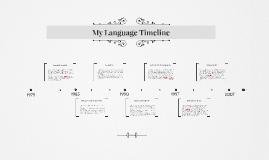 My Language Timeline