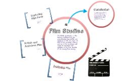 Film Studies Taster