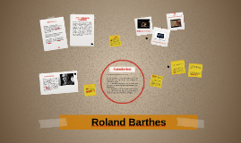 Copy of Roland Barthes