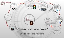 """Copy of """"Como la vida misma"""""""