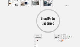 Think Chapter 8: Social Media and Crises