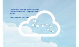 Laboratorios Virtuales en Instituciones Educativas a Través