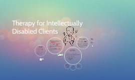 Therapy for Intellectually Disabled Clients