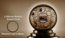 Women's Law Caucus 1st General Meeting