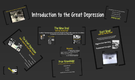 Copy of Introduction to the Great Depression