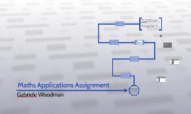 Maths Applications Assignment