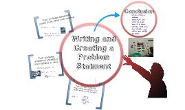Scientific Method- Writing a Problem Statement