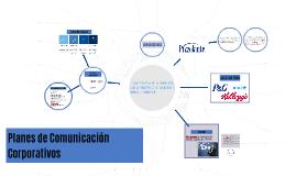 Planes de Comunicación Corporativos