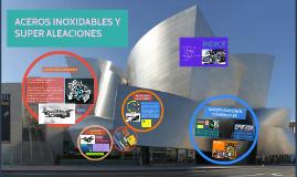 ACEROS INOXIDABLES Y SUPER ALEACIONES