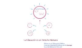 La Educación es un Derecho Humano