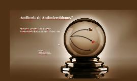 Cópia de Otimizar o uso de Antimicrobianos?