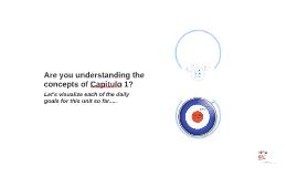 Español 1- Capítulo: 1