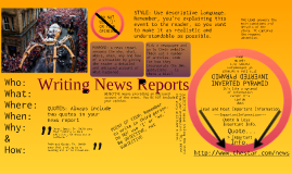 Writing News Reports