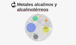 Metales alcalinos y alcalinotérreos