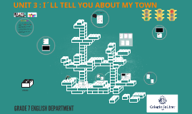 UNIT 3: I´LL TELL YOU ABOUT MY TOWN