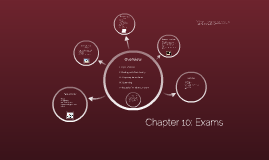 Chapter 10: Exams