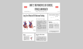 UNIT 2: THE PRINCIPLES OF EXERCISE, FITNESS AND HEALTH
