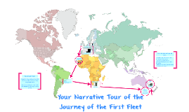 Copy of Your Narrative Tour of the Journey of the First Fleet