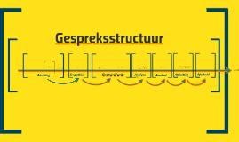 Gespreksstructuur en -technieken