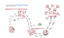 República Populista, Ditadura Militar e redemocratização