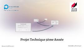 Projet Technique 5ème Année