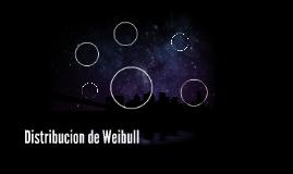 Distribucion de Weibull