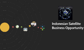 Indonesian Satellite Business Opportunity