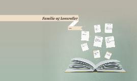 Familie og kønsroller