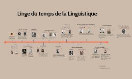 Linge du temps de la Linguistique, par Andrea Soto