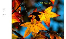 EAP Week 13 sem 2 2016