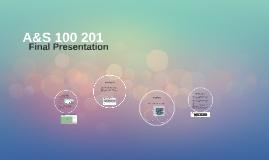 A&S 100 201