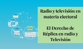 Radio y televisión en materia electoral