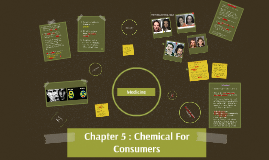 Chapter 5 : Chemical For Consumers