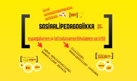 Sosiaalipedagogiikan espanjalainen ja latinalaisamerikkalainen perinne