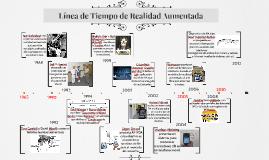 Copy of Línea de Tiempo de Realidad Aumentada