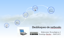 Desbloqueo de netbooks