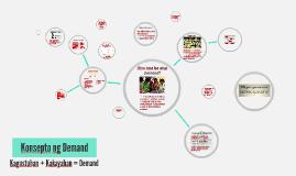 Copy of Konsepto ng Demand