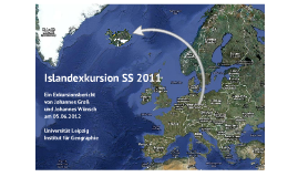 Islandexkursion SS 11/12