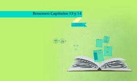 Resumen Capítulos 13 y 14