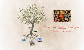 Mexico- Talia Rodriguez Jan. 13 1st period