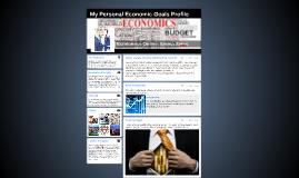 My Personal Economic Goals Profile