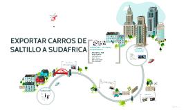 EXPORTAR CARROS DE SALTILLO A SUDAFRICA