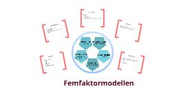 femfaktormodellen