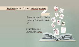 """Copy of Analisis de""""EL TUNEL""""Ernesto Sabato"""