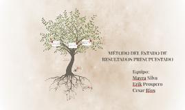 Copy of MÉTODO DEL ESTADO DE RESULTADOS PRESUPUESTADO