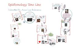 Epistemology Time Line