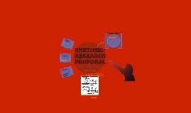 Rhetoric: Research Proposal