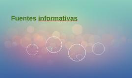 Fuentes informativas