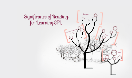 Significance of Reading for Learning EFL
